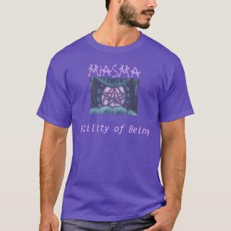 Chemise verte de pourpre de Sigil de miasme T-shirt