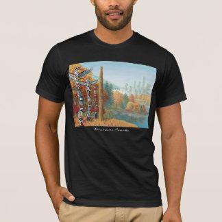 Chemises d'art de Vancouver de T-shirt de souvenir