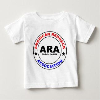 Chemises de bébé d'association de plouc d'Amerian T-shirt Pour Bébé