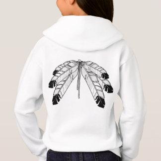 Chemises de nations du sweatshirt de l'enfant