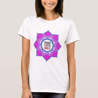 Chemises d'équipe pour la promenade du Paws4Pets T-shirt