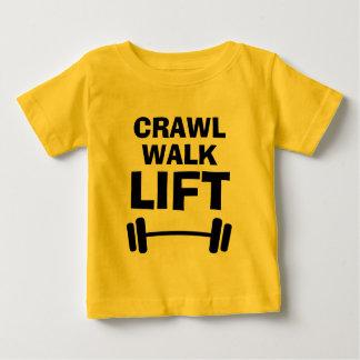 Chemises drôles de bébé de citation de forme t-shirt pour bébé