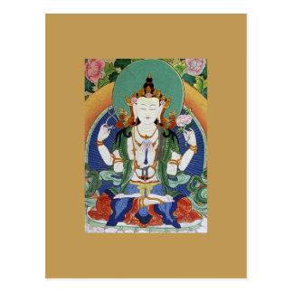 Chenrezig Bodhisattva van Medeleven Briefkaart