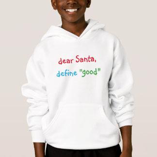 Cher Père Noël définissent le bon sweat - shirt à