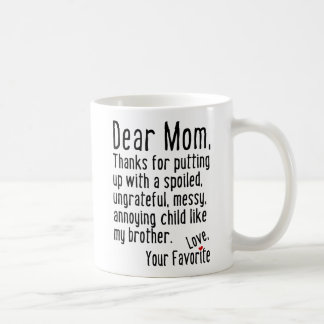 Chère maman [version de frère] mug