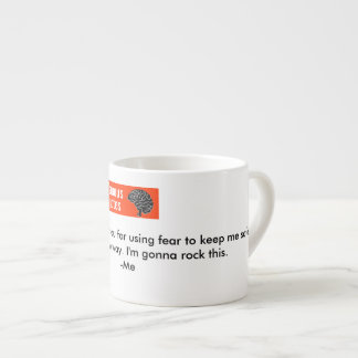 Chère tasse de cerveau de lézard