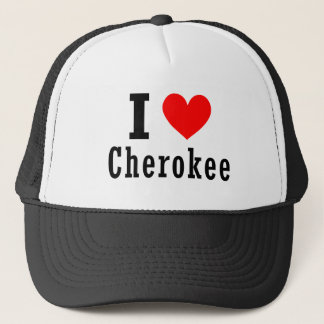 Cherokee, conception de ville de l'Alabama Casquette