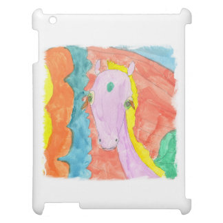 Cheval à ailes par poney de licorne d'Alicorn Coque iPad