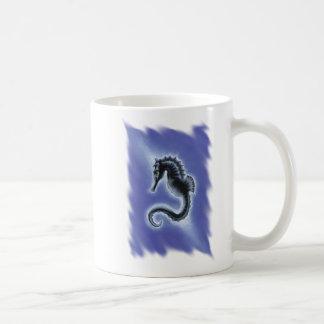 Cheval foncé - tasse d'hippocampe
