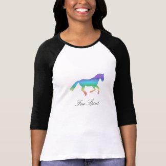 Cheval peint d'esprit libre t-shirt