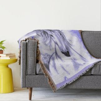 Cheval pourpre couvertures
