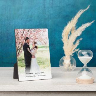 Chevalet blanc simple classique de photo de plaques d'affichage