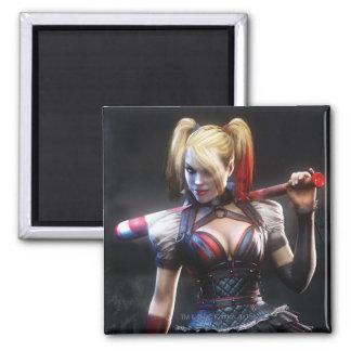 Chevalier de Batman Arkham | Harley Quinn avec la Magnet Carré