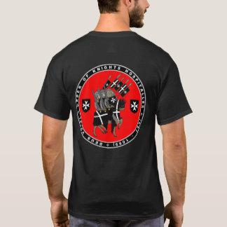 Chevaliers Hospitaller marchant pour lutter la T-shirt