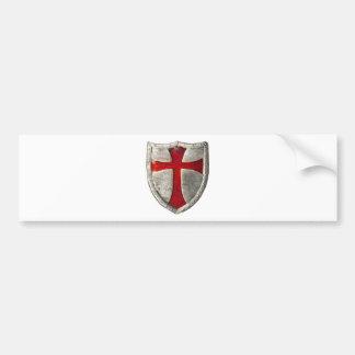 Chevaliers Templar Autocollant De Voiture