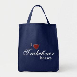 Chevaux de Trakehner Tote Bag