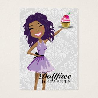 Cheveux de violette d'Ebonie de 311 desserts de Cartes De Visite