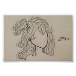 Cheveux Photographies D'art