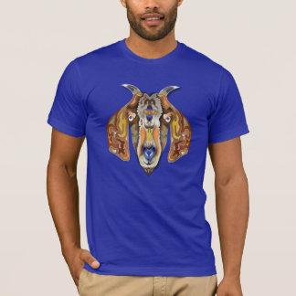 Chèvre colorée t-shirt