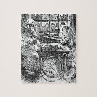 Chèvre Shopkeeperand Alice Puzzle