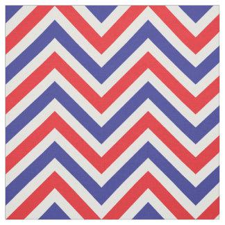 Chevron 4 juillet tout le rouge, blanc et bleu tissu