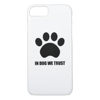 Chez le chien nous faisons confiance au coque