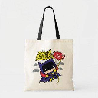 Chibi Batgirl prêt pour l'action Sac En Toile Budget