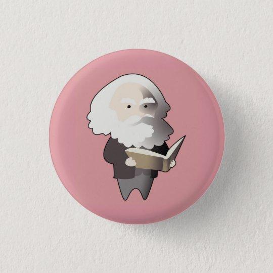 Chibi Karl Marx Badge Rond 2,50 Cm