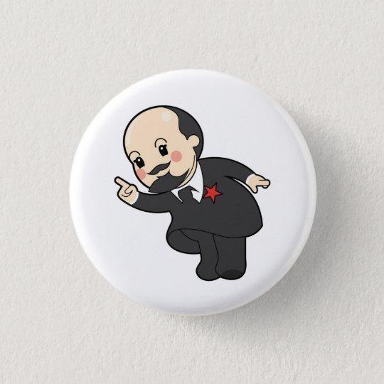 Chibi Vladimir Ilyich Lénine Badge Rond 2,50 Cm