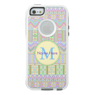 Chic Girly de Boho de pastels d'iphoneSE aztèque Coque OtterBox iPhone 5, 5s Et SE