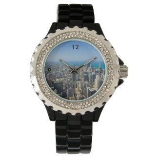 Chicago d'en haut montres bracelet