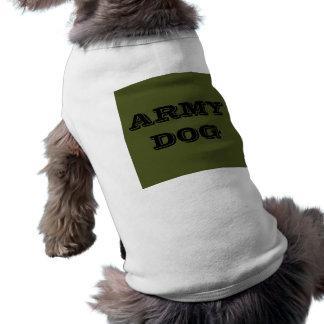 Chien d'armée d'habillement d'animal familier tee-shirt pour animal domestique