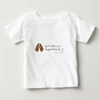 chien de basset t-shirt pour bébé