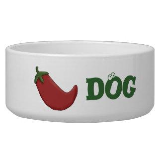 Chien de piment fort assiette pour chien