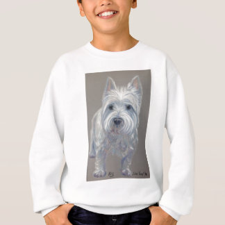 Chien des montagnes occidental de terrier sweatshirt