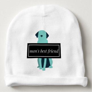Chien du meilleur ami de l'homme bonnet pour bébé