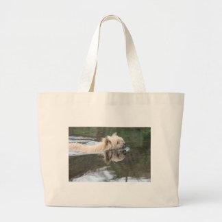 chien swmming sacs de toile