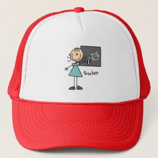 Chiffre casquette de bâton de professeur