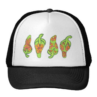Chilis vert tropical casquettes