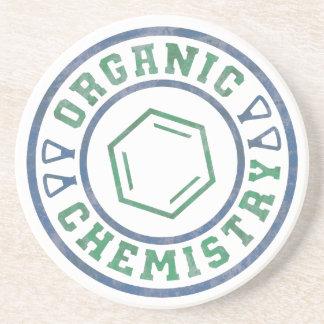 Chimie organique dessous de verre en grès