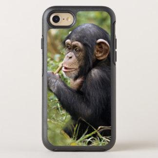 Chimpanzé de bébé (troglodytes de casserole) coque otterbox symmetry pour iPhone 7