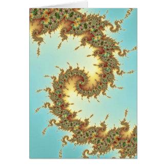 Chinois - carte de fractale