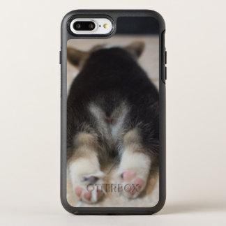 Chiot 2 de corgi de Gallois de Pembroke Coque Otterbox Symmetry Pour iPhone 7 Plus