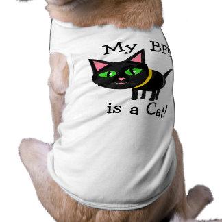 Chiot affectueux de chat drôle t-shirt pour animal domestique