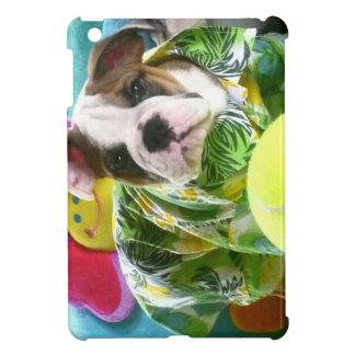 Chiot anglais drôle et adorable mignon de coque iPad mini