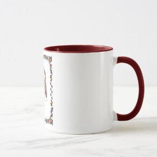 Chiot barbu de colley mug