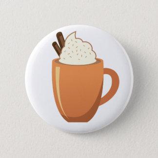 Chocolat chaud badge rond 5 cm