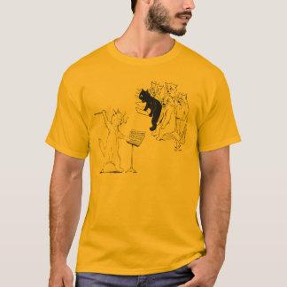 Choeur de conduite Louis vintage Wain de chat T-shirt