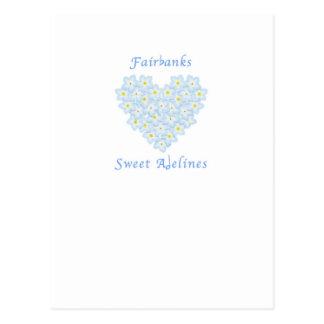 Choeur doux de Fairbanks Adelines Carte Postale