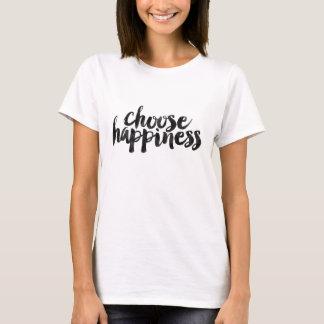 Choisissez le bonheur t-shirt